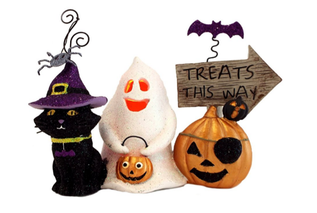 halloween indoor decorations ceramic figurines - Ceramic Halloween Decorations