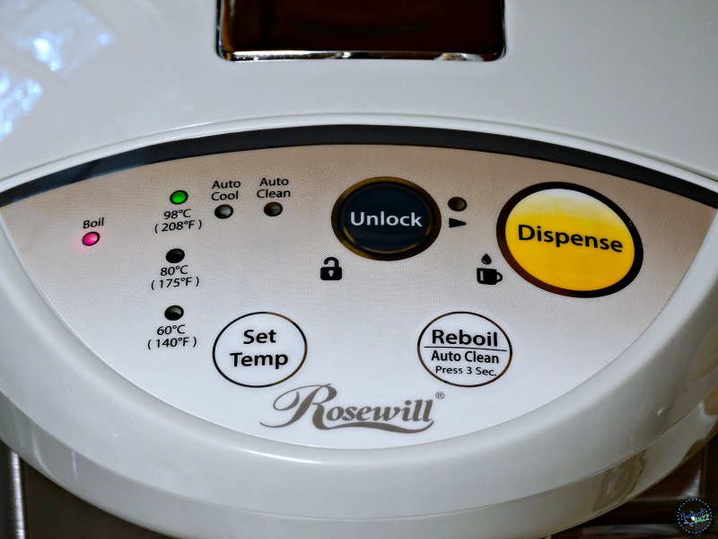Homemade Hot Chocolate Mix rosewill hot water dispenser top