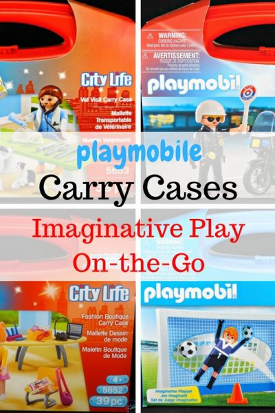 playmobil Carry Cases – Imaginative Play On-the-Go + A Giveaway!