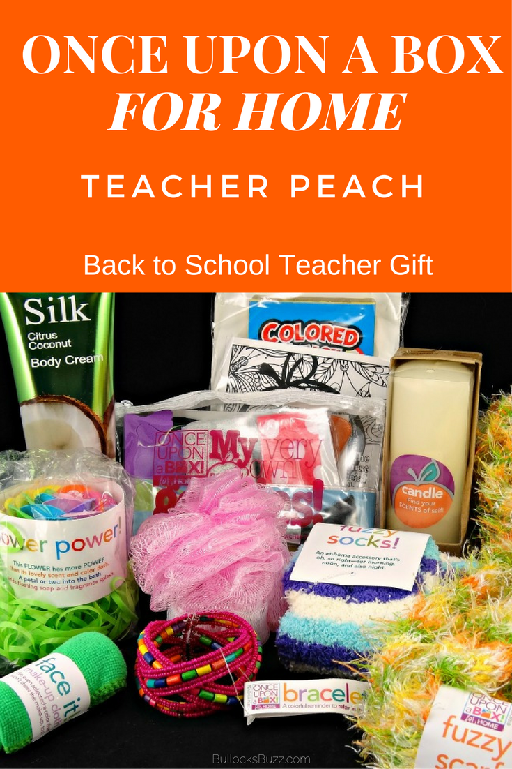 gifts for teachers once upon a box for home main image