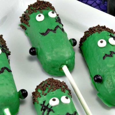 Frankenstein Halloween Treats – Easy Halloween Treats for Kids