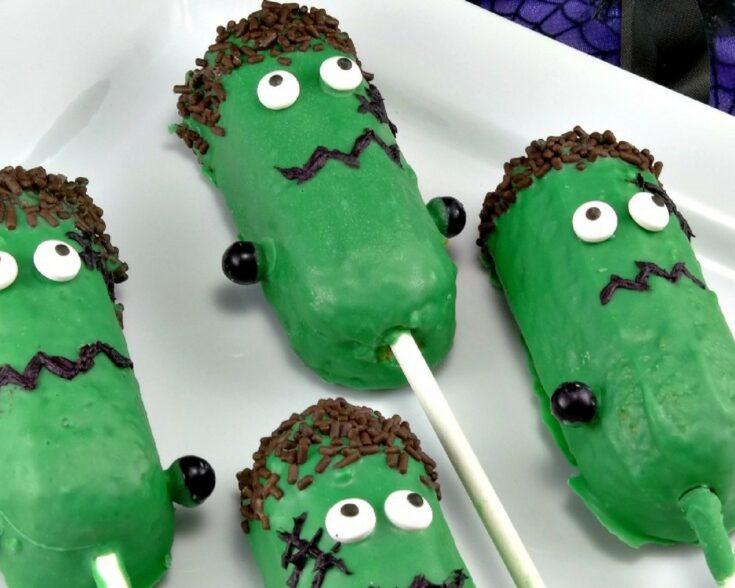 Frankenstein Halloween Treats - Frankenstein Twinkies