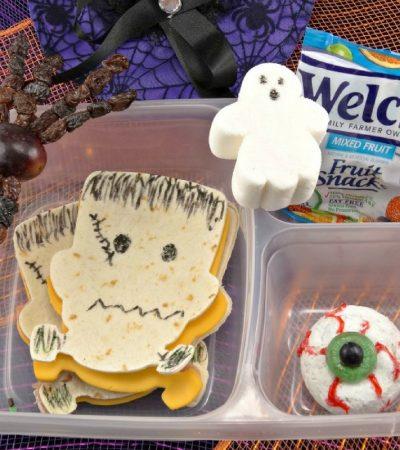 Halloween Lunch Box – Frankenstein Halloween Lunch for Kids