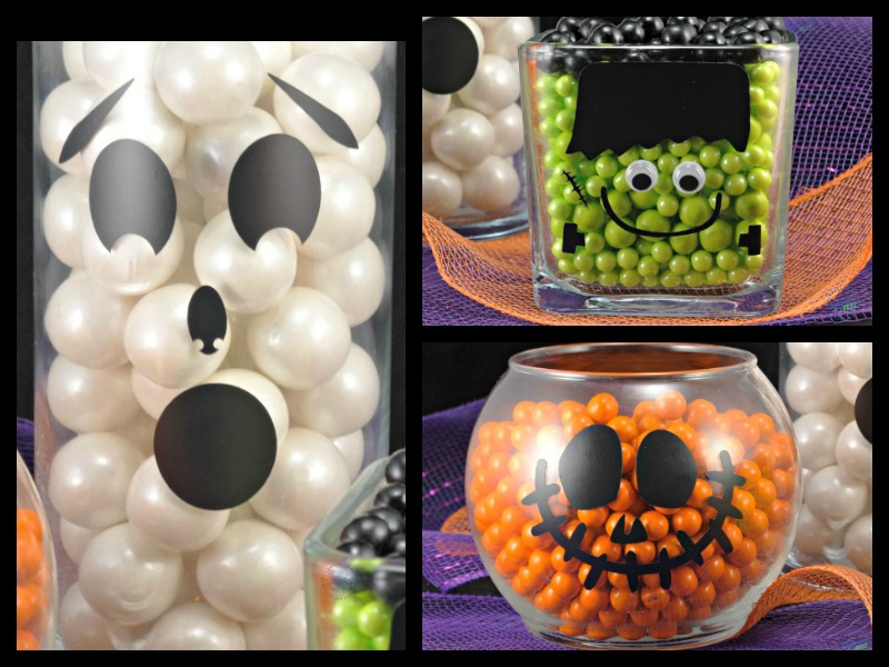 halloween treats candy decor and crafts candy jars