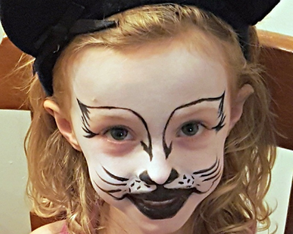 face painting cat - 1000×800