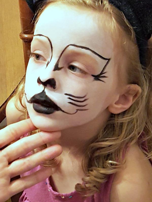 Cat Face Paint Tutorial