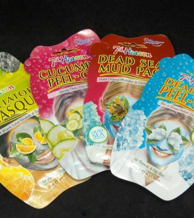 7th Heaven Natural Face Masks