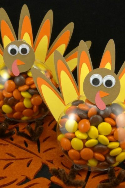 DIY Thanksgiving Turkey Treats Tutorial