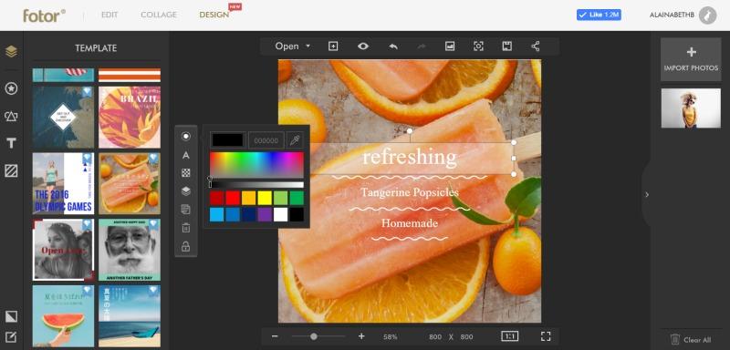 fotor-design-screen