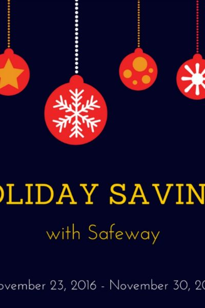 Holiday Savings at Safeway + $75 Amazon Giveaway #SFGiftGas16