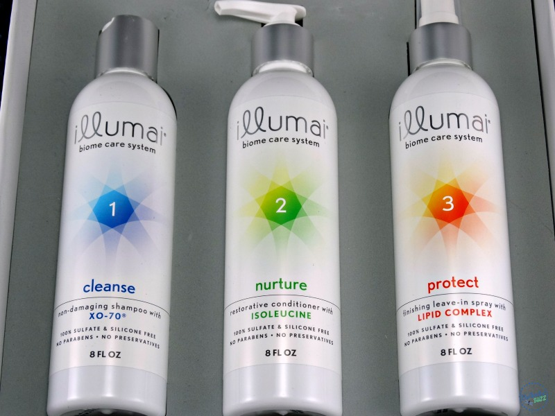 women's wellness-babblebox-illumai-hair-care-system