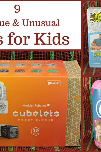9 Unique and Unusual Gifts for Kids – Hours of Fun!