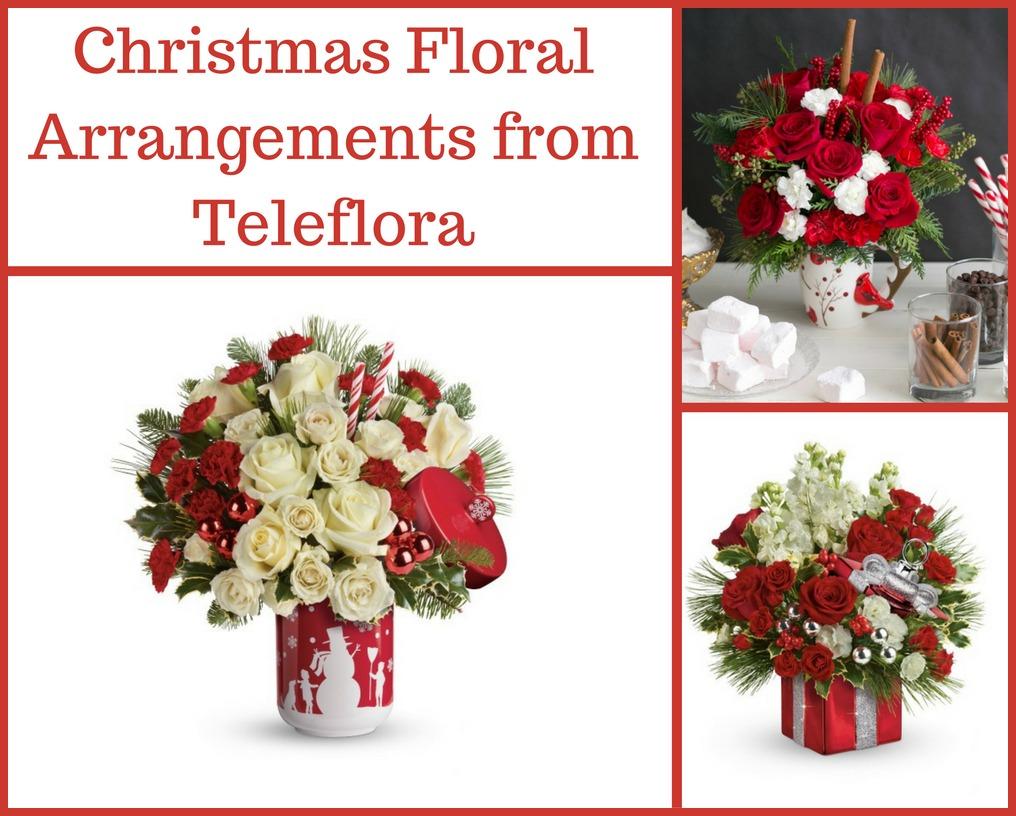 Teleflora Christmas 2019.Christmas Floral Arrangements From Teleflora Brighten Up