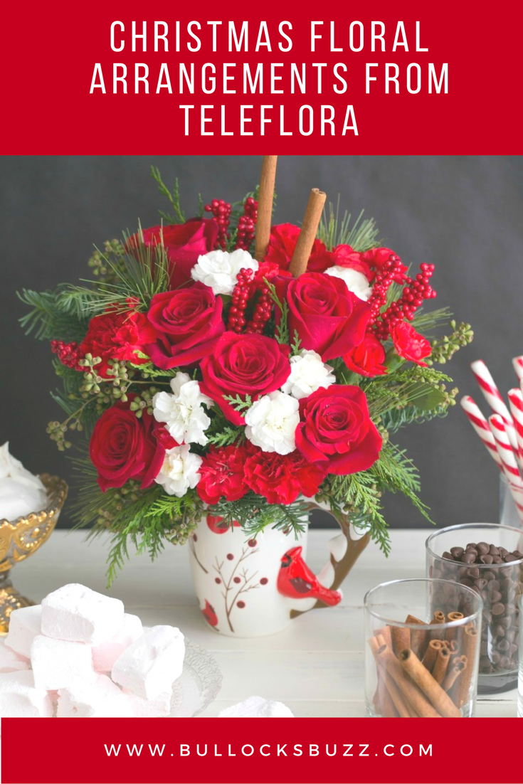 Brighten up the dark winter nights with a burst of holiday color in one of these gorgeous new 2016 Christmas floral arrangements from Teleflora.