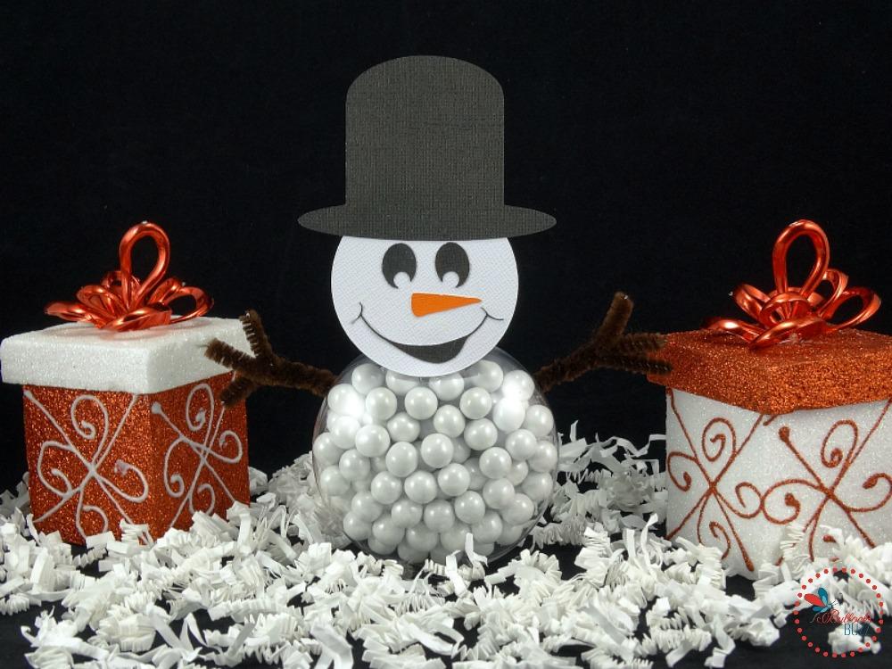 DIY Christmas Snowman treats image1