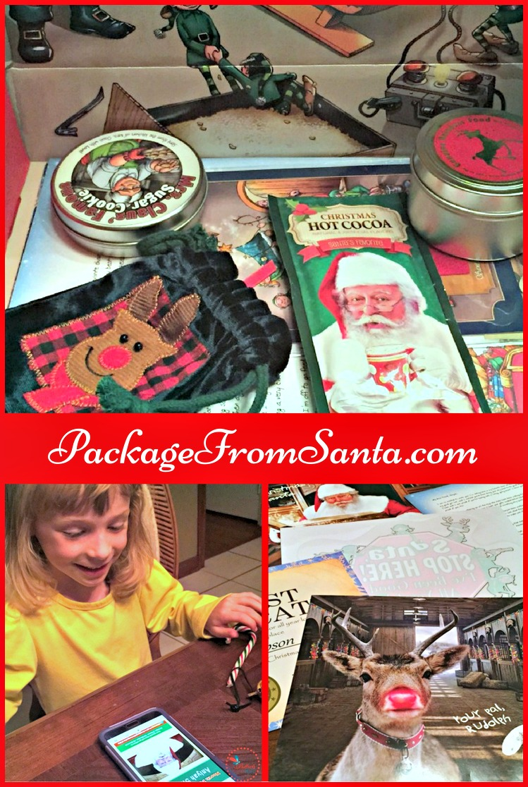 Tap into the Christmas magic that memories are made from with a personalized letter and treasure chest of goodies from PackageFromSanta.com