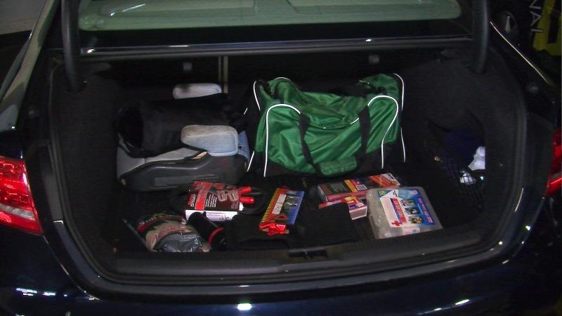 road trip emergency kit