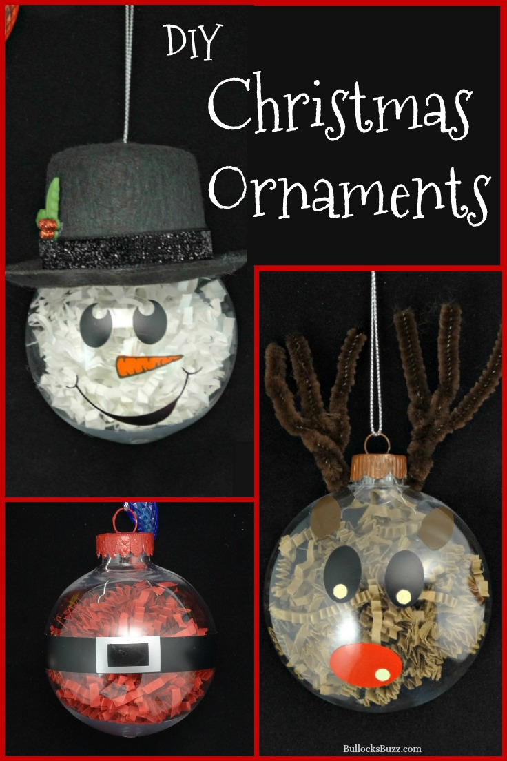 DIY Christmas ornaments in post for DIY Christmas Snowman Treats