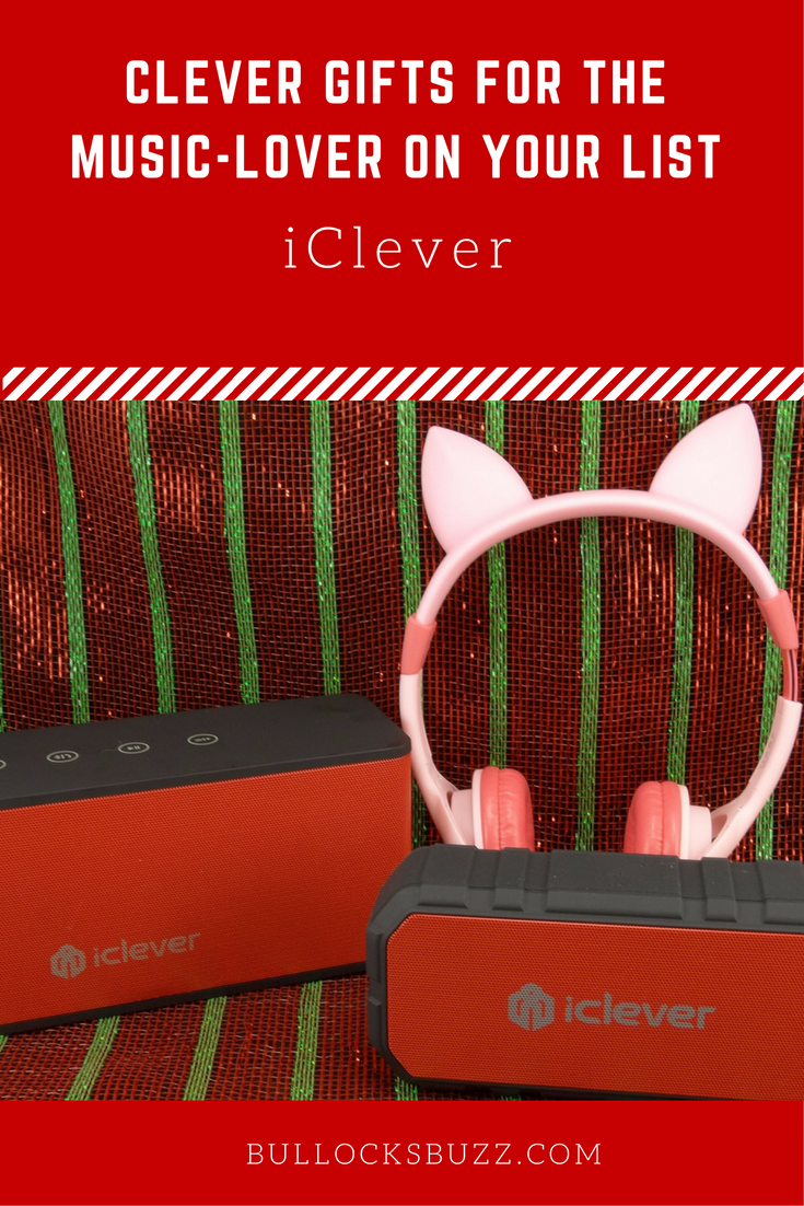 Looking for a clever gift for the music lover on your list? iClever.