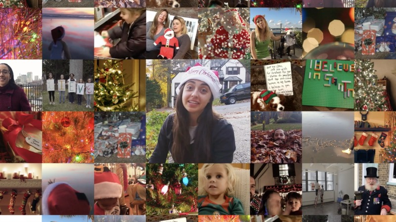Believe in Santa people all over the world