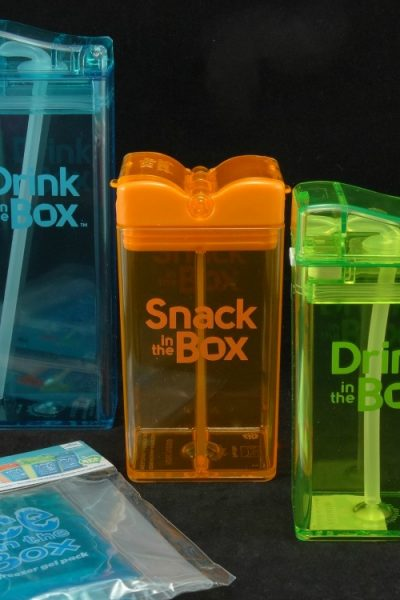 Drink in the Box & Snack in the Box – Children's Reusable Snack and Drink Containers