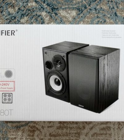 Edifier R980T Bookshelf Speakers – Compact Speakers with Large Sound