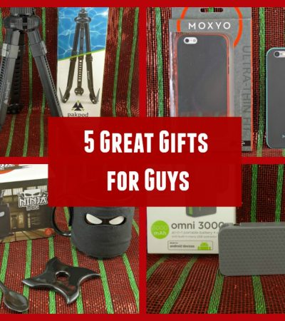 5 Great Gifts for Guys – Gift Ideas for the Men in Your Life