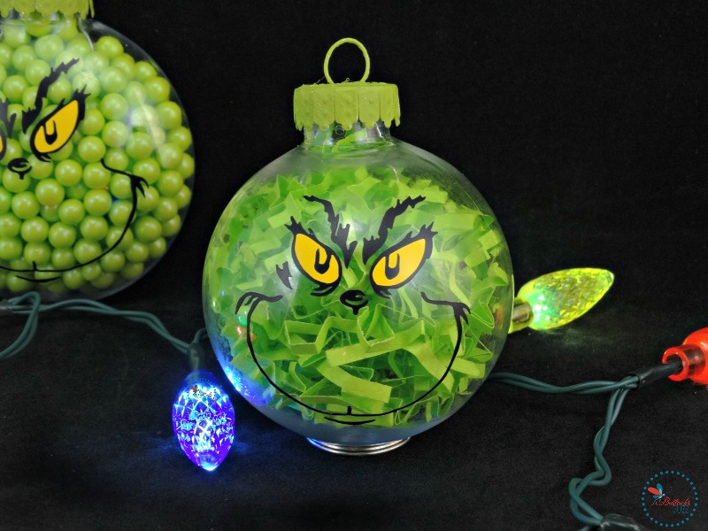 Grinch Christmas Ornament Craft
