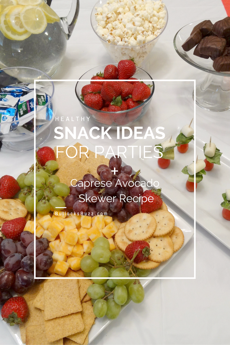 You don't sacrifice taste to snack healthy! These delectable Caprese & Avocado Skewers and healthy snack ideas are ideal for parties or for a simple snack.