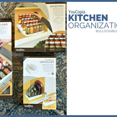 Kitchen Organization with YouCopia + Giveaway!