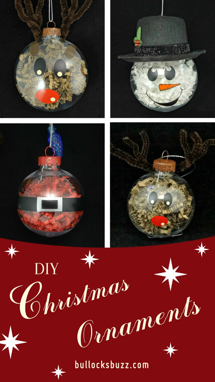 Made with colored crinkle paper shreds, these DIY Christmas Ornaments are not only fun, they are inexpensive and so easy the whole family can help!