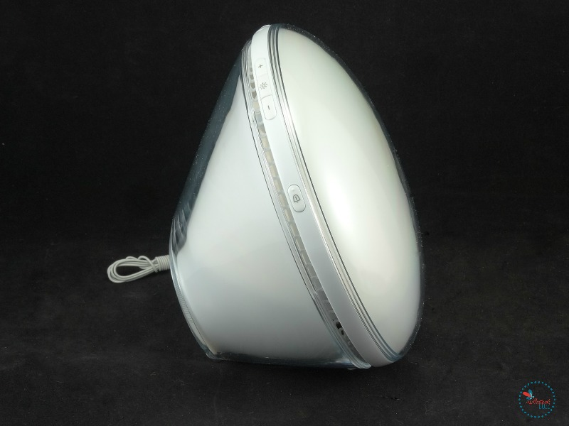 Philips Wake-up Light side view