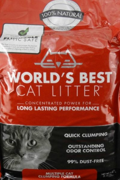 Use Less and Get More from Your Cat Litter – World's Best Cat Litter #WasteLessLitter
