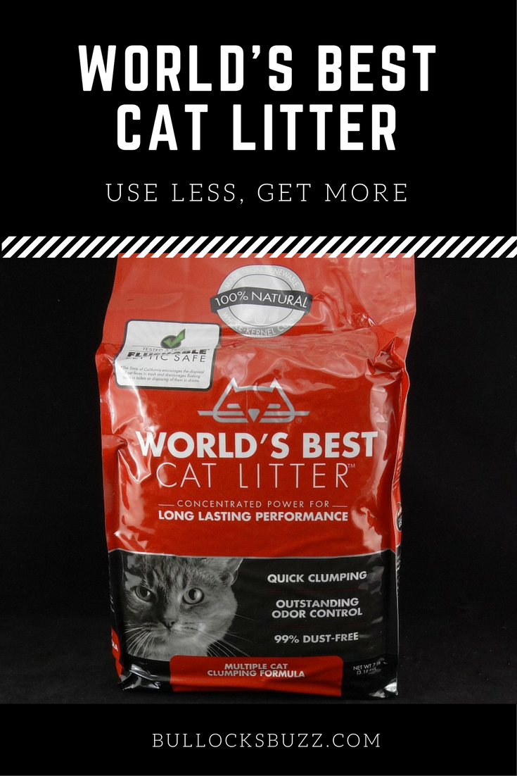 Say goodbye to lugging around heavy containers of cat litter, and say hello to World's Best Cat Litter. The litter in the small bag that packs big benefits!