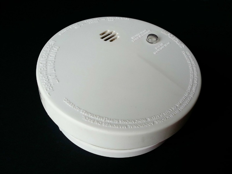 Get Your House in Shape This Winter check alarms