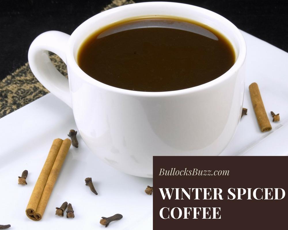 winter spiced coffee recipe