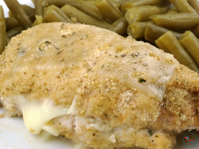 Easy Cheesy Chicken Cordon Bleu