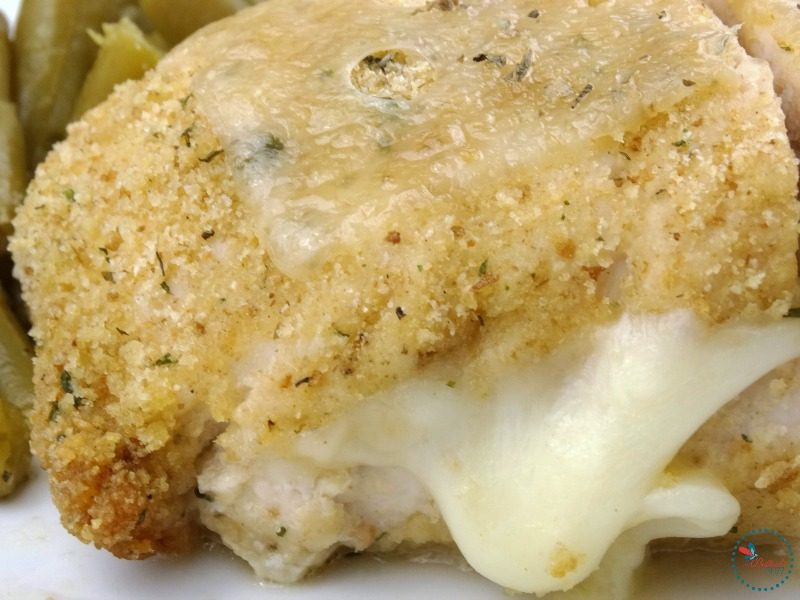 Easy Cheesy Chicken Cordon Bleu serve and enjoy