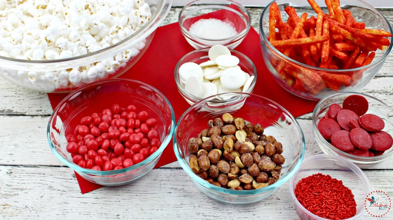 flamin' hot popcorn ingredients valentines day popcorn