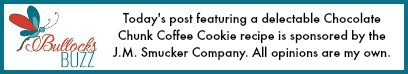 Chocolate Chunk Coffee Cookie disclosure