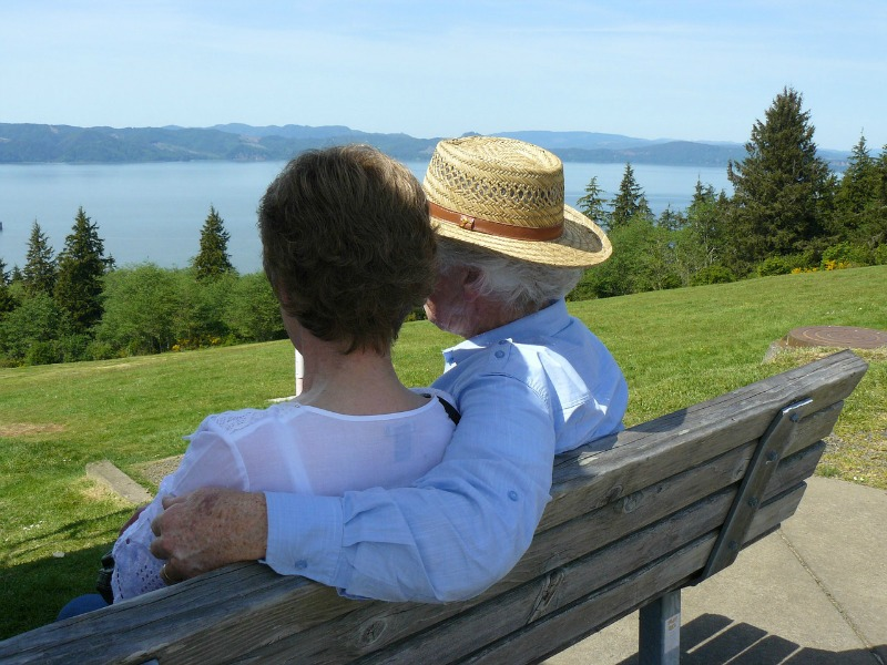 Common Caregiver Mistakes sitting on bench