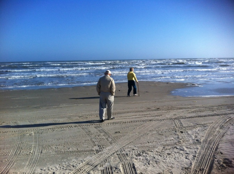 Common Caregiver Mistakes walking on beach
