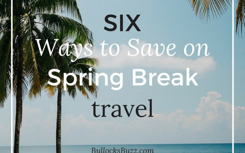 6 Simple Ways to Save on Spring Break Travel #GEFuel17 + $50 Amazon Giveaway!