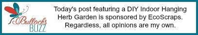 DIY Indoor Hanging Herb Garden disclosure