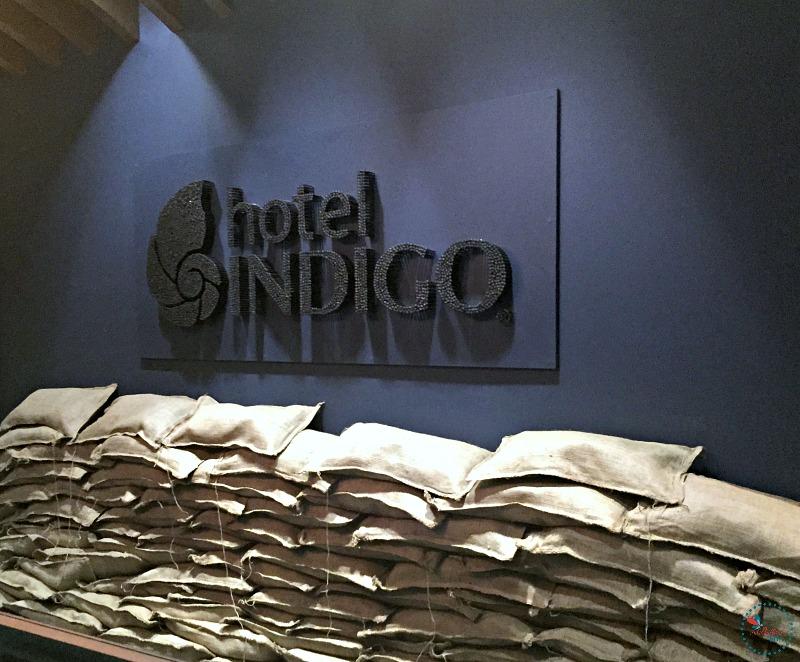 Hotel Indigo Tuscaloosa handmade sign