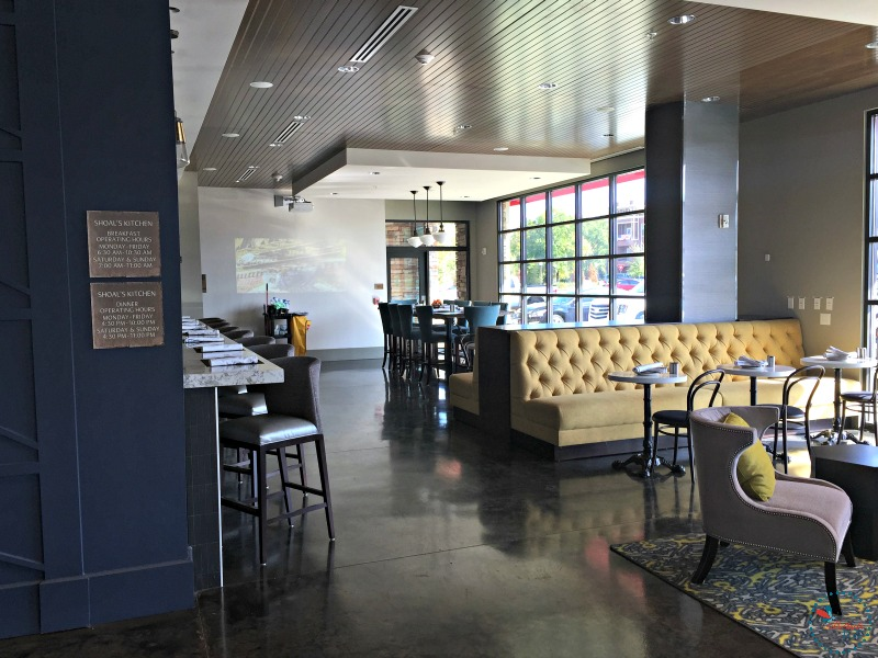 Hotel Indigo Tuscaloosa shoals kitchen