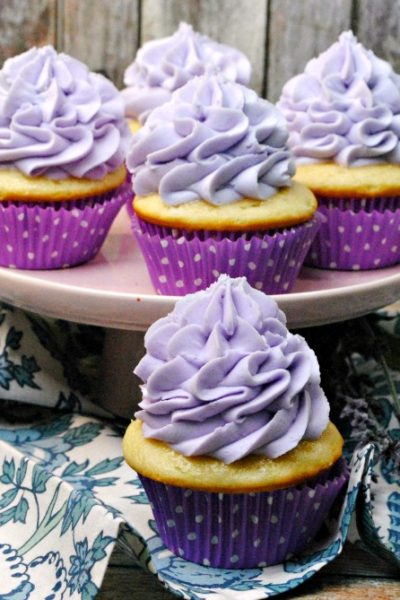 Lavender Vanilla Cupcakes – A Sweet Little Taste of Heaven on Earth