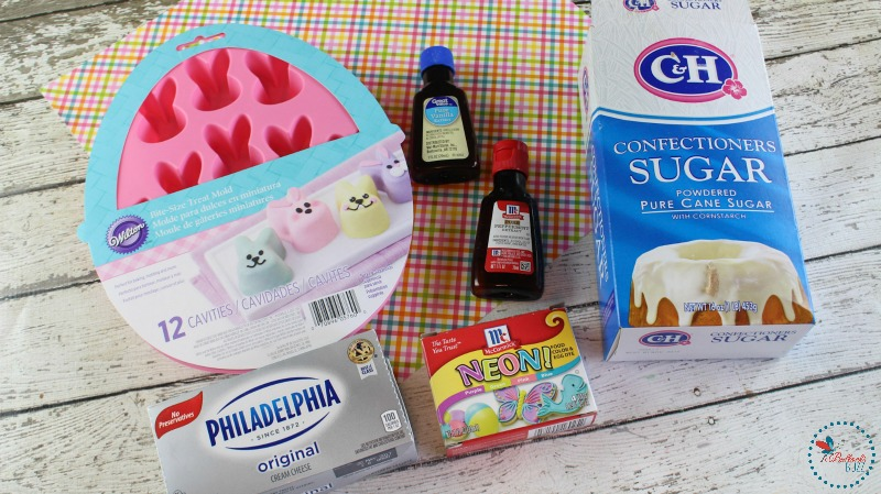 Easter Bunny Cream Cheese Mints ingredients