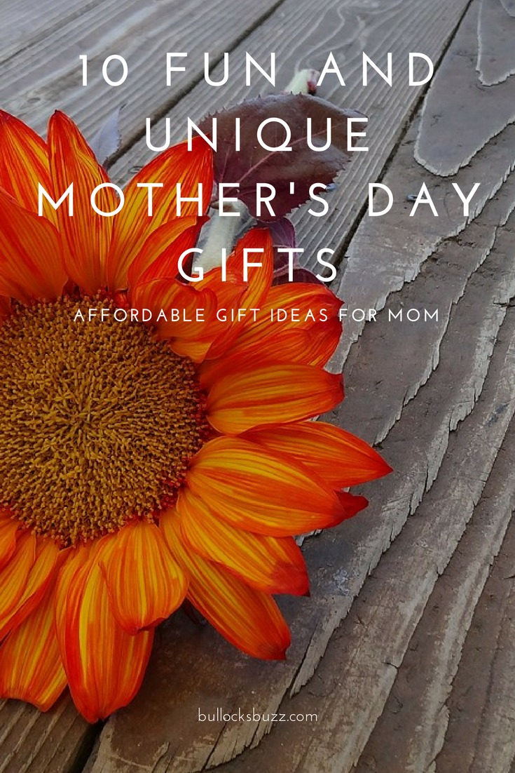 Show Mom how much she means to you with one of these fun and unique Mother's Day gifts.
