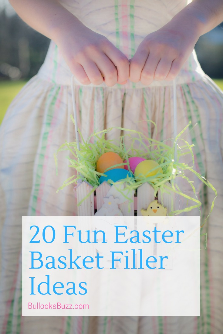 20 Fun and Funky Easter Basket Fillers that are sweet enough to put a smile on everyone's face! And they're not all candy!
